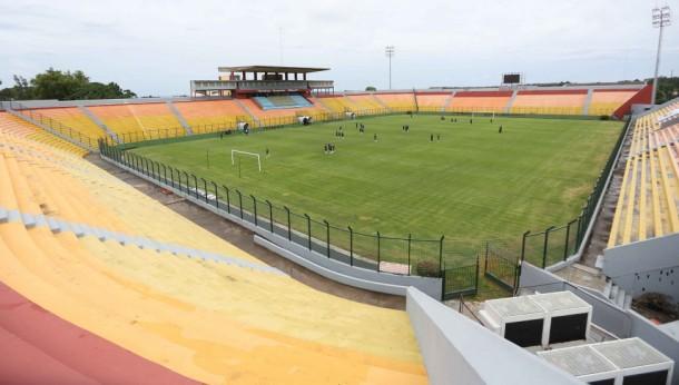 Estádio Domingo Burgueño Miguel, em Maldonado, 25 mil pessoas, um dos favoritos do interior uruguaio para receber uma Copa