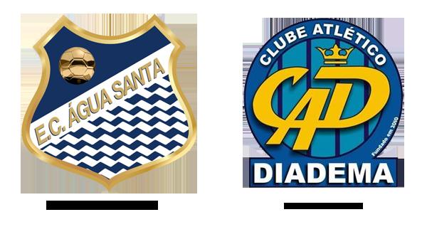 Os escudos dos clubes de Diadema.