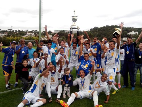 Em 2015, o Andraus se sagrou campeão da Terceirona. (Foto: Leonardo Bonassoli/Futebol Metrópole)