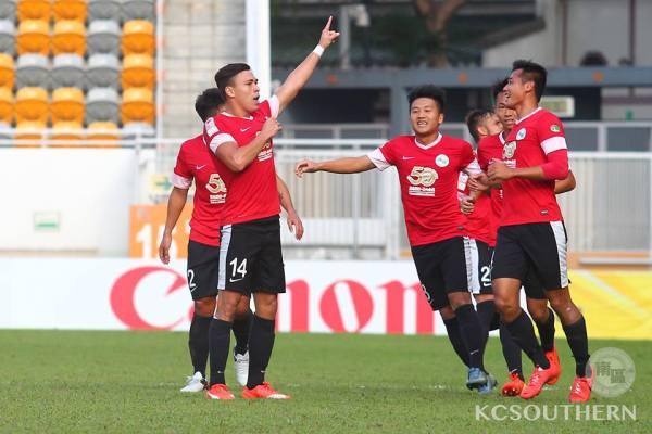 James Ha foi o nome do jogo (Foto: Facebook 冠忠.南區足球會 KC.Southern District Football Club)