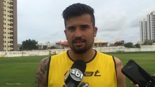 Artilheiro no Nacional, Victor Sapo tenta a sorte no ABC (Foto: Diego Simonetti/BlogdoMajor)