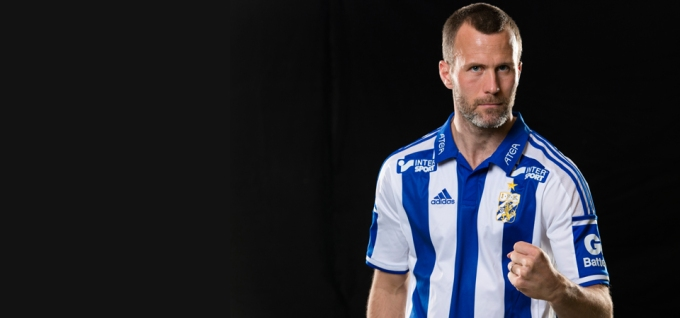 São 14 anos de IFK Goteborg. Esse é Hjalmar Jonsson (Foto: IFK Goteborg)
