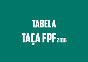TABELA TAÇA FPF2