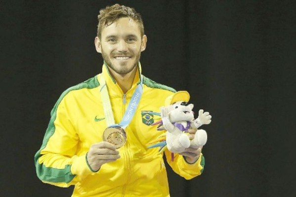 Douglas Brose já tem o título mundial e pan-americana, agora quer o olímpico (Foto: Divulgação/USA Today Sports)