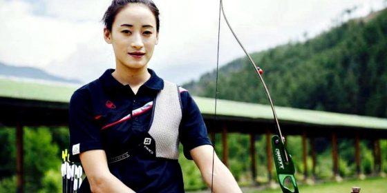 Karma encerrou a participação do Butão na Rio 2016 (Foto: Divulgação/Equipe Karma)