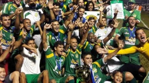 Gurupi se tornou o maior campeão estadual da era profissional (Foto: Reprodução/Portal Gilberto)