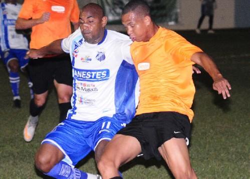 Um dos confrontos do Sendas foi contra o São Mateus (Foto: Reprodução/Cenário Esportivo)